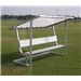 Pevo Covered Aluminum Bench 7.5'