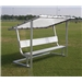 Pevo Covered Aluminum Bench 15'