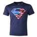 Under Armour Youth Alter Ego USA Superman T-Shirt (Navy)