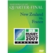 RWC 2007 Quarter Final DVD New Zealand vs France