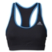 adidas TechFit Bra (Blk/Royal)