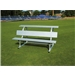 Pevo 7.5' Team Bench with Back and Top Seat