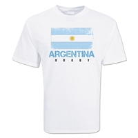Argentina Country Rugby Flag T-Shirt