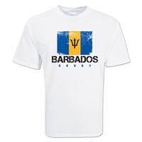 Barbados Country Rugby Flag T-Shirt