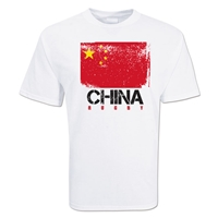 China Country Rugby Flag T-Shirt