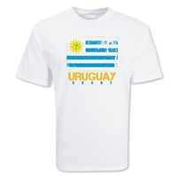 Uruguay Rugby Flag T-Shirt