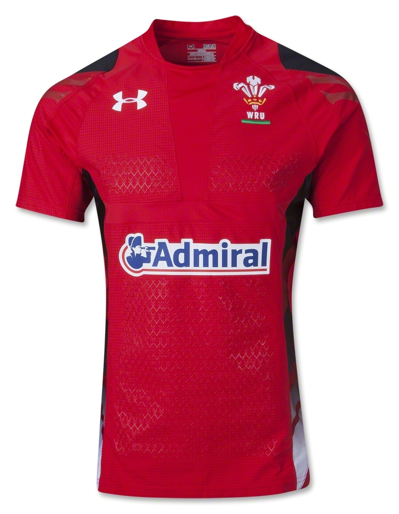 Wales Home Rugby Shirt