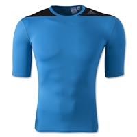 adidas Base TechFit T-Shirt (Blue)