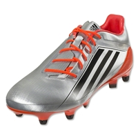 adidas Adizero RS7 Pro SG 4.0 Rugby Boots (Silver/Red)