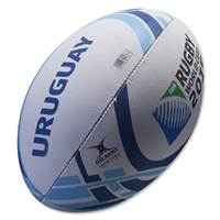 Uruguay 2015 Rugby World Cup Flag Ball