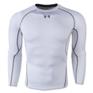 Under Armour Heatgear Compression Long Sleeve T-Shirt (White)