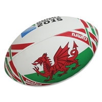 Wales 2015 Rugby World Cup Flag Ball