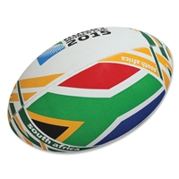 South Africa 2015 Rugby World Cup Flag Ball