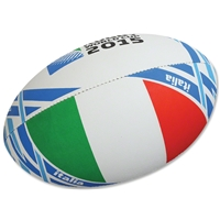 Italy 2015 Rugby World Cup Flag Ball