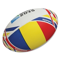 Romania 2015 Rugby World Cup Flag Ball