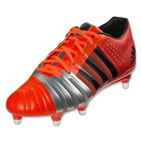 adidas FF80 Pro SG 2.0 Rugby Boots (Red/Silver)