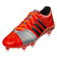 adidas FF80 SG 2.0 Rugby Boots (Red/Silver)