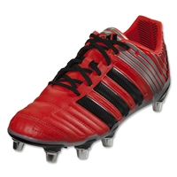 adidas adiPower Kakari SG Rugby Boots (Red/Silver)
