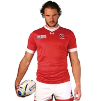 Canada 2015 RWC Authentic Home Jersey