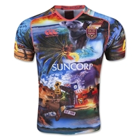 All Things Queensland State of Origin 2015 Training Jersey