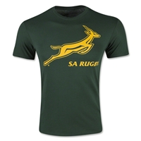 South Africa Crest T-Shirt (Dark Green)