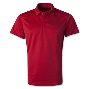 Men's Poly Polo (Red)