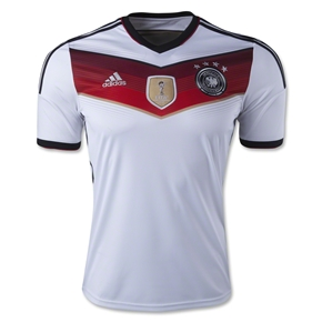 Germany 14/15 Home Soccer Jersey (4 Stars)
